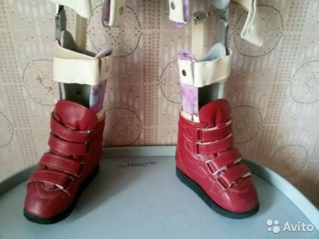 ef47745f7 Код 9-01-04 Ортопедическая обувь сложная на аппарат без утепленной  подкладки 02-