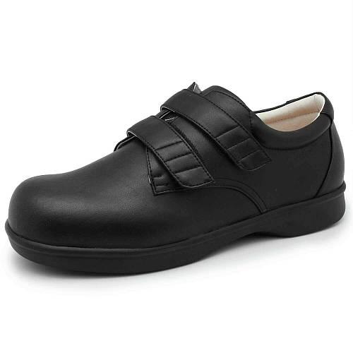 d7dfcb102 Ортотитан(лечебная антивальгусная обувь) Туфли полуботинки диабетические  033-0013 Черный