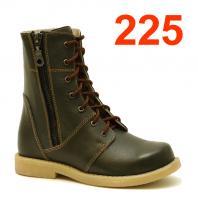 АКВЕЛЛА (Туторная и ортезная обувь) Ботинки ортопедические без утепления 225-0012-3 Хаки