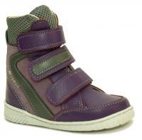 АКВЕЛЛА (Туторная и ортезная обувь) Ботинки ортопедические без утепления 199-0024-3 Фиолетовый