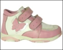 Орфея (лечебная антиварусная обувь+3D стелька) Ботинки Кроссовки для косолапиков с отв. 20 г