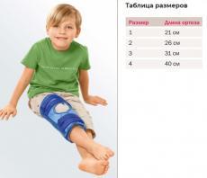 MEDI Тутор на коленный сустав детский medi Classic D kidz 845D на любую ногу
