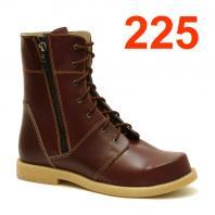 АКВЕЛЛА (Туторная и ортезная обувь) Ботинки ортопедические без утепления 225-0015-3 Бордовый