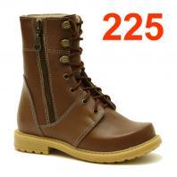 АКВЕЛЛА (Туторная и ортезная обувь) Ботинки ортопедические без утепления 225-008-3 Коричневый
