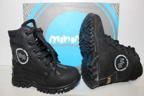 Минимен Ботинки-Сапоги демисезон 255-101-980-1 Черный